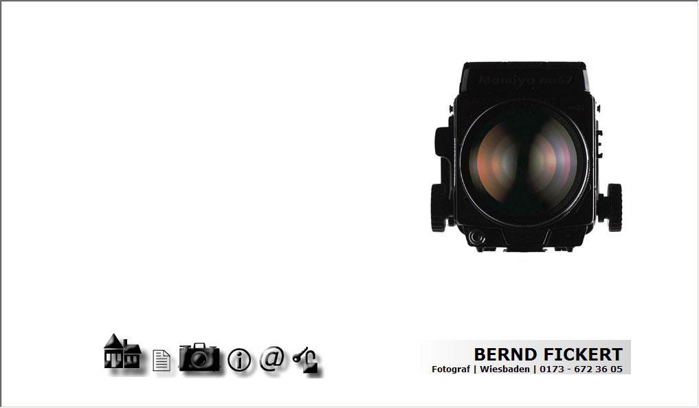 Webdesign für Bernd Fickert - Fotograf - Wiesbaden