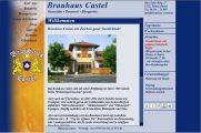Vorschaubild zum Webdesign Projekt: Brauhaus Castel