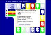 Vorschaubild zum Webdesign Projekt: Deutsche Montessori Gesellschaft